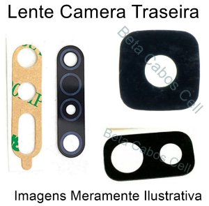 Lente Câmera Traseira Samsung A10