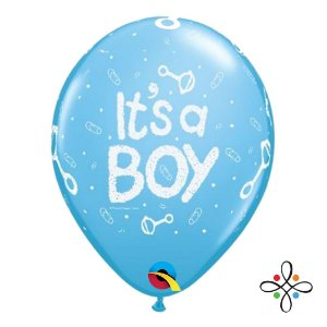 """Balão It's a Boy - 11"""" Polegadas (unidade)"""
