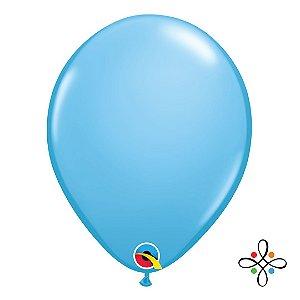 """Balão Opaco Azul Pálido - 11"""""""
