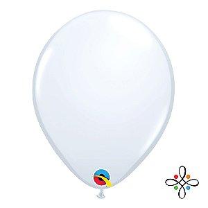 "Balão Opaco Branco - 11"""