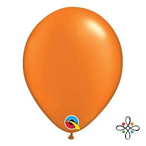 "Balão Opaco Pérola Laranja - 11"""