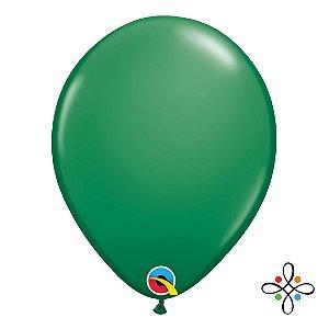 """Balão Opaco Verde - 11"""""""