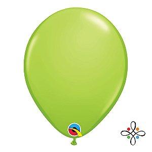 """Balão Opaco Verde Limão - 11"""""""