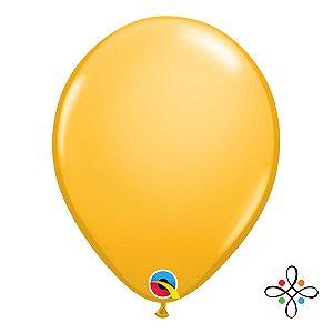 """Balão Opaco Goldenrod - 11"""""""