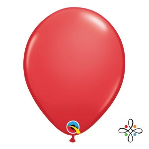 """Balão Opaco Vermelho - 11"""""""