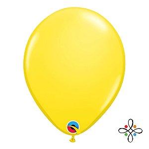 """Balão Opaco Amarelo - 11"""""""