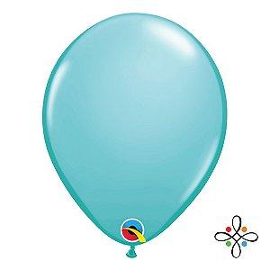 """Balão Opaco Caribbean Blue - 11"""""""