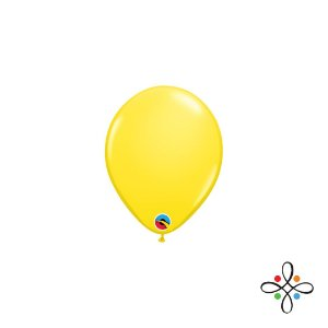"""Balão Opaco Amarelo - 5"""""""