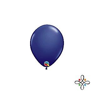 """Balão Opaco Azul Escuro - 5"""""""
