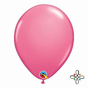 """Balão Opaco Rose - 11"""""""