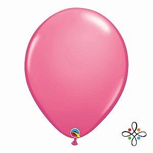 """Balão Opaco Rose - 16"""""""