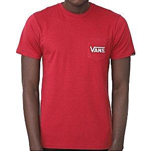 Camiseta Vans Otw Classic Vinho