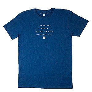 Camiseta Hang Loose Lettering