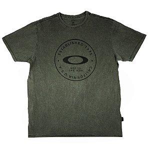 Camiseta Oakley Fraction Washed