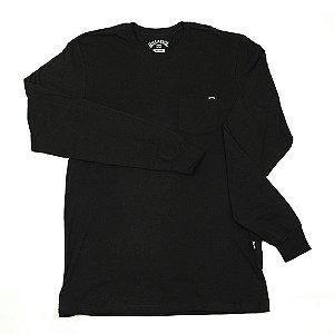Camiseta Manga Longa Billabong Team Pocket