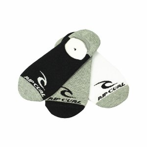 Meia Rip Curl Invisible Sock - Pack c/ 3 Pares