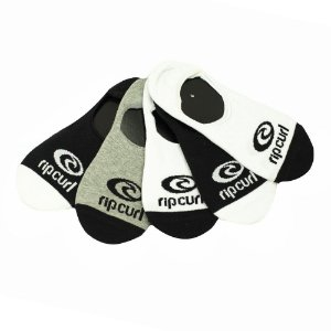Meia Rip Curl Invisible Sock  - Pack c/ 5 Pares