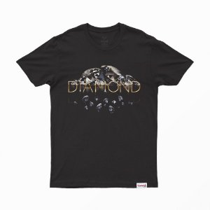 Camiseta Diamond Mirrored