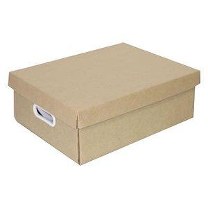 GKM - Caixa de Papelão  Organizadora Média