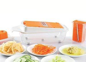 Kit Processador Cortador Alimentos Legumes E Frutas -B413-C