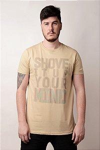 Camiseta Shove Creme