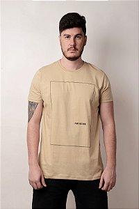Camiseta Print Creme
