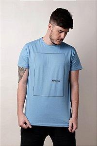 Camiseta Print Azul