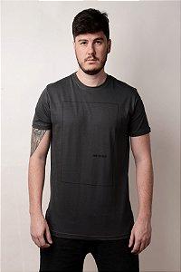 Camiseta Print Chumbo