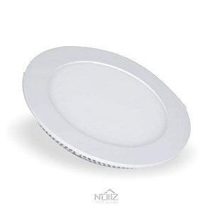 Luminária Painel LED de Embutir 18W Luz Branca 6500K