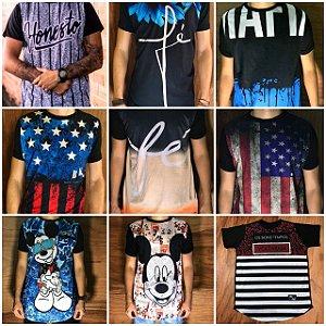 2086940da Camiseta Supreme Estampa frontal cor Preta - A. F. - Alexandrine Fashion
