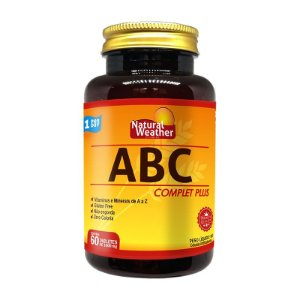 ABC COMPLET PLUS - Vitamina Multivitaminico Natural Weather 60 tablets