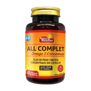 ALL COMPLET - ÔMEGA 3 CONCENT. 60 SOFTGELS