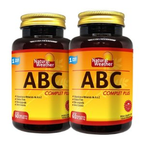2 ABC Complet Plus - Vitamina Multivitaminico Natural Weather 60 tablets