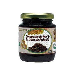 Composto de mel e extrato de própolis 300g - Orgânico