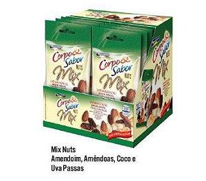 MIX NUTS 240G - CX COM 12 NUTS