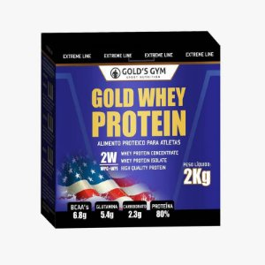 Gold Whey Protein - Gold's Gym 2Kg