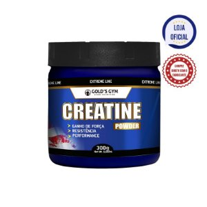 Creatine Powder 300g Gold's Gym Creatina em pó