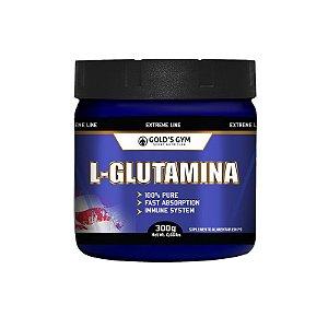 L-GLUTAMINA - GOLD'S GYM 300G