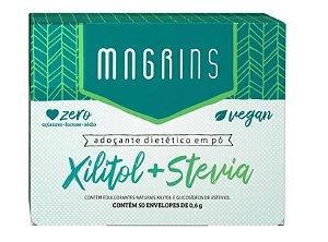 ADOÇANTE MAGRINS  XILITOL + STEVIA  30G
