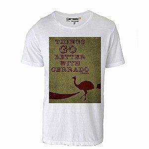 Camiseta Gola Básica Cerrado Brasil - Things Go Better