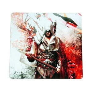 Mouse Pad Gamer Assassino Exbom 220x180x2mm - 2586