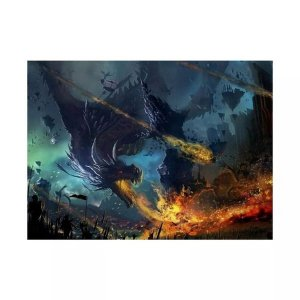 Mouse Pad Gamer Dragão Exbom 220x180x2mm - 2586
