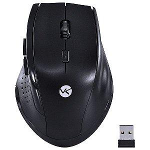 Mouse Sem Fio 2.4 GHZ 1200 DPI Dynamic Ergo Preto - DM110