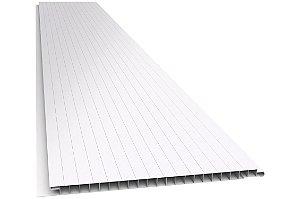Forro PVC 200x10mm frizado junta seca
