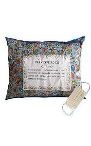 Travesseiro Aromático de Lavanda Francesa/Alfazema + MÁSCARA GRÁTIS Hera Produto Artesanal