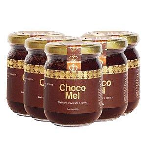 05 Unidades Chocomel 230g - HerboMel Natural