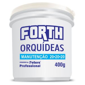 Forth Orquideas Manutencao 400G Fertilizante Adubo Peters