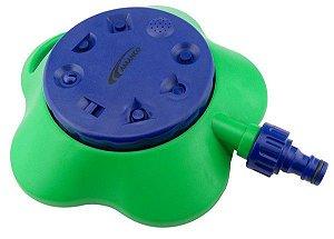 Amanco - Aspersor De Base 8 Jatos para Irrigação de Jardim