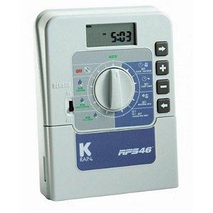 Controlador Programador Irrigacao K-Rain RPS46 - 6 Zona interno - 220V
