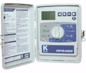 Programador Controlador de Irrigacao K-Rain RPS469 - 9 Zonas - 220V
